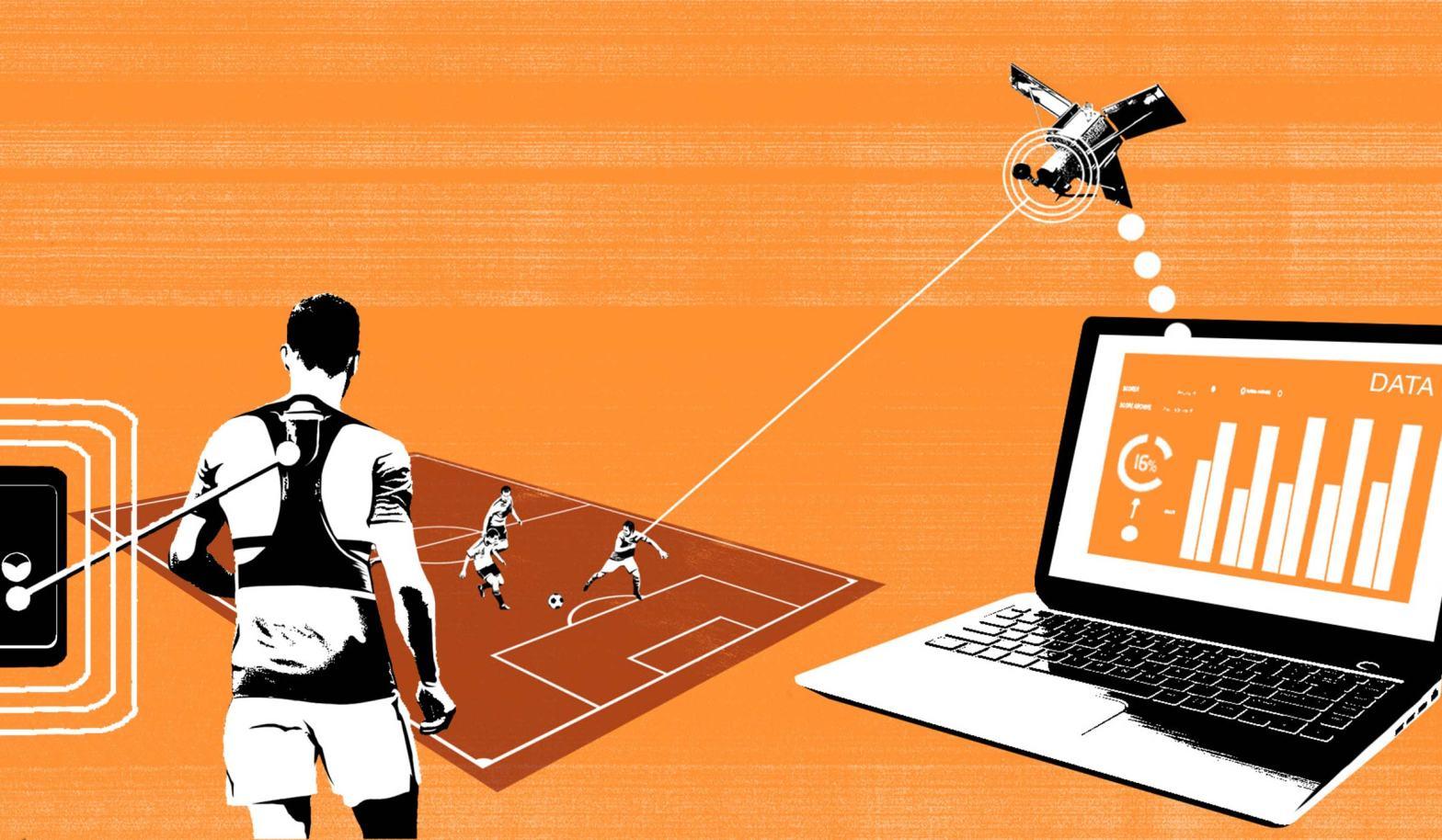 Imagem que mostra como a informação do sensor chega até os softwares de análise, passando pelo satélite.