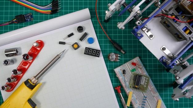 Projeto eletrônico em desenvolvimento